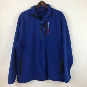 Vintage Polo Sport Ralph Lauren Blue Fleece Sz XL